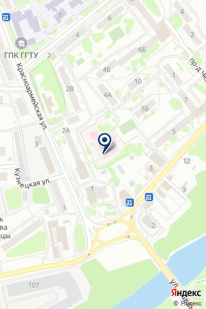 ОРЕХОВО-ЗУЕВСКИЙ ДЕТСКИЙ ТУБЕРКУЛЕЗНЫЙ САНАТОРИЙ № 4 на карте Орехово-Зуево