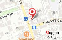 Схема проезда до компании Воронежфармация в Семилуках