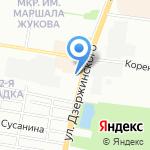 NovaСтрой на карте Краснодара