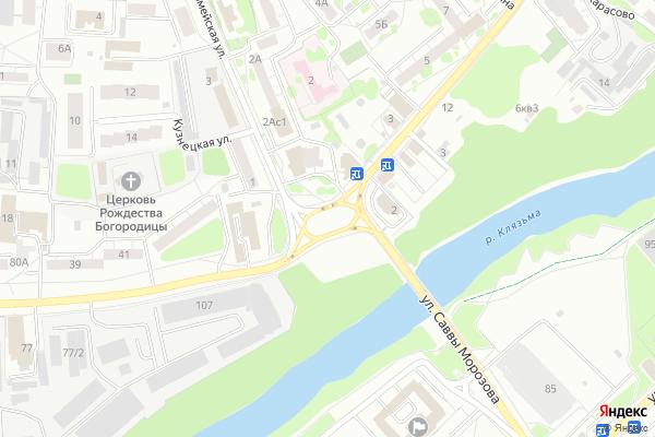 Ремонт телевизоров Город Орехово Зуево на яндекс карте