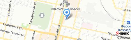 Авто-про на карте Краснодара