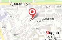 Схема проезда до компании Юг Энерго Сервис в Краснодаре