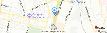 Патрик & Мари на карте Краснодара