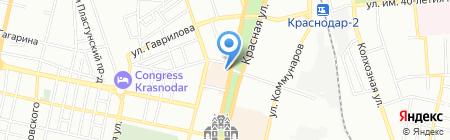 Домашний очаг на карте Краснодара