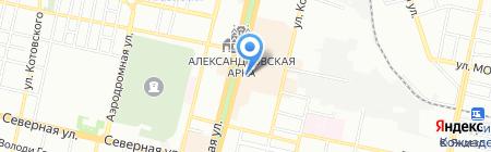 Мандарин на карте Краснодара