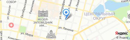 Эгоистка на карте Краснодара