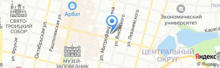 Детский сад №13 на карте Краснодара