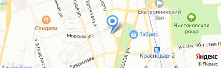 ПрофРиелт на карте Краснодара