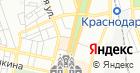 Продуктовый магазин на Красной на карте