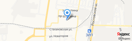 Golden Baby на карте Краснодара