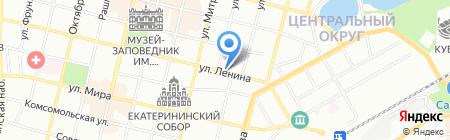 Цирюльня на карте Краснодара