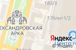 Схема проезда до компании Бархат в Краснодаре