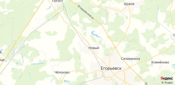 Ефремовская на карте
