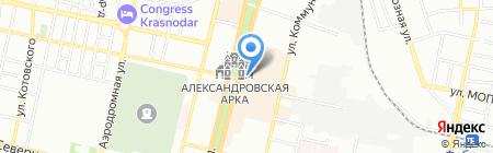 Glamour на карте Краснодара
