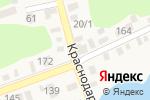 Схема проезда до компании Ангел в Новотитаровской