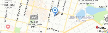 Формула цвета на карте Краснодара