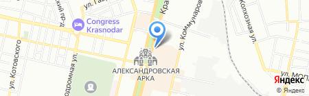 Кубаночка Нью на карте Краснодара