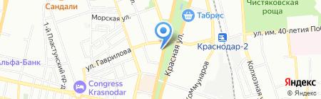 Символъ на карте Краснодара