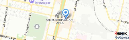 Гламур на карте Краснодара