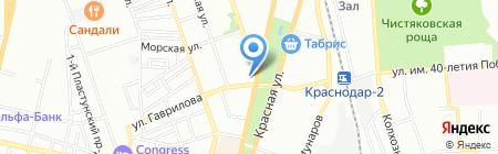 L-cafe на карте Краснодара