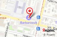 Схема проезда до компании Клуб 33 в Краснодаре
