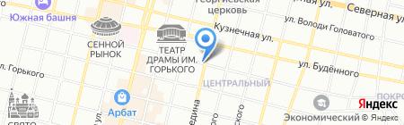 Велл на карте Краснодара