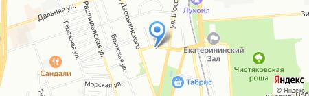 Комакс энерго на карте Краснодара