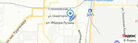 Агриматко на карте Краснодара
