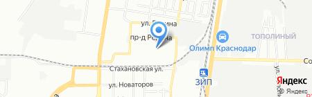 Мастерстрой на карте Краснодара
