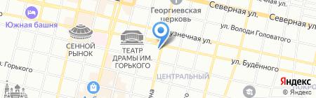 Кип-Сервис на карте Краснодара