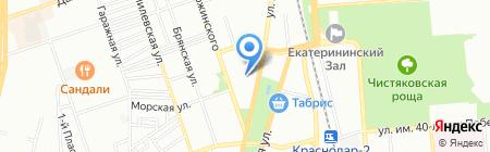 Банкомат Банк Зенит Сочи на карте Краснодара