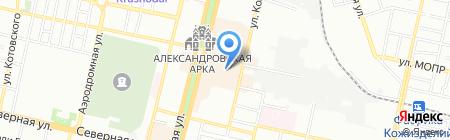 Bolero на карте Краснодара