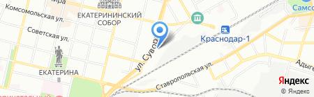 АвтоLand на карте Краснодара