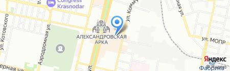 Большой на карте Краснодара