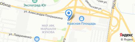 Арника на карте Краснодара