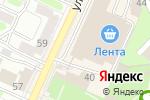 Схема проезда до компании Уютерра в Орехово-Зуево