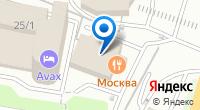 Компания Москва на карте