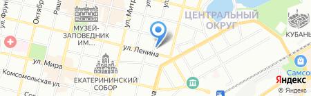 РосКред на карте Краснодара