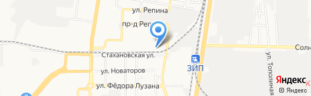 КраснодарСтройГрупп на карте Краснодара