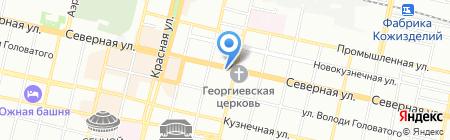 Краснодарская краевая коллегия адвокатов на карте Краснодара
