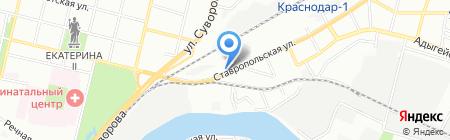 Стройинжиниринг на карте Краснодара