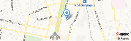 Дюна на карте Краснодара