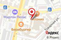 Схема проезда до компании Пантер в Краснодаре