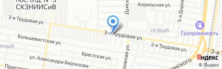 Интер Про на карте Краснодара
