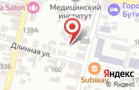 Схема проезда до компании Белкрас-М в Ильском
