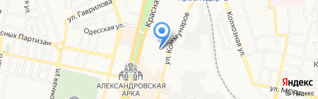 Bigudini на карте Краснодара
