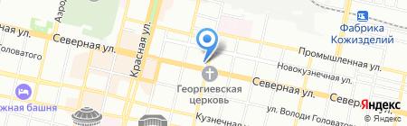 Детский сад №6 на карте Краснодара