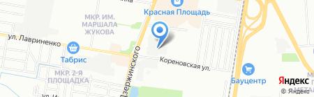 ИТС-Центр на карте Краснодара