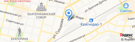 Лед-Групп на карте Краснодара