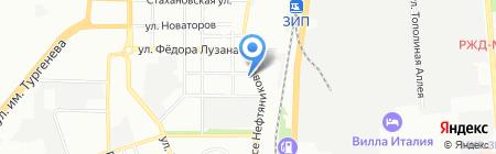 Банкомат Газпромбанк на карте Краснодара